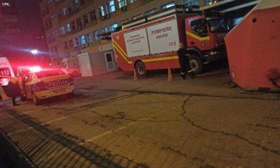 Încă un spital în flăcări? Spitalul Sf. Pantelimon din Capitală, evacuat din cauza fumului gros
