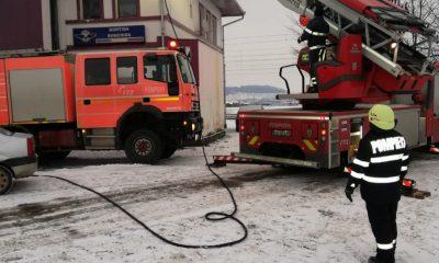 Incendiu după incendiu. S-a aprins și gara din Bonțida