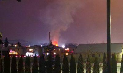 Incendiu pe strada Avram Iancu, în Florești. Au ars acoperișul unei case și o anexă