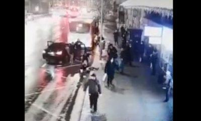MOMENTUL răpirii unei adolescente de 15 ani din Cluj-Napoca, dintr-o stație de bus. Nimeni nu a intervenit