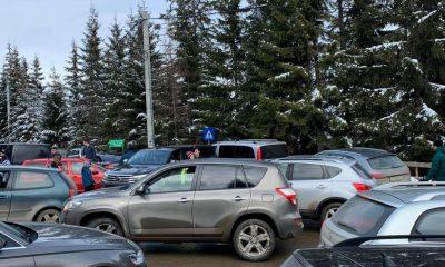 Mai rău ca-n centrul Clujului! Trafic blocat în Băișoara