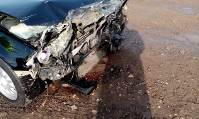 Neatenția era să-l coste viața pe un șofer din Cluj. Mașina pe care o conducea a fost izbită de un tren