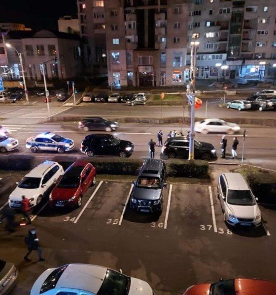Urmările scandalului din trafic. Ambii șoferi au fost amendați de polițiștii clujeni