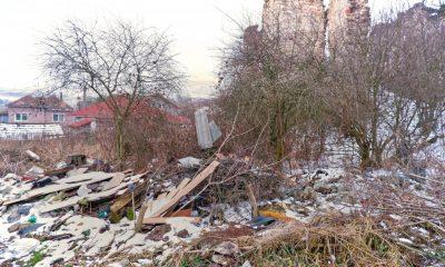 Castel renascentist de secol 16 din Cluj, îngropat în gunoaie
