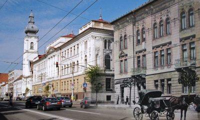 Clujul, atunci și acum. Imagini superbe cu orașul vechi suprapuse peste fotografii actuale