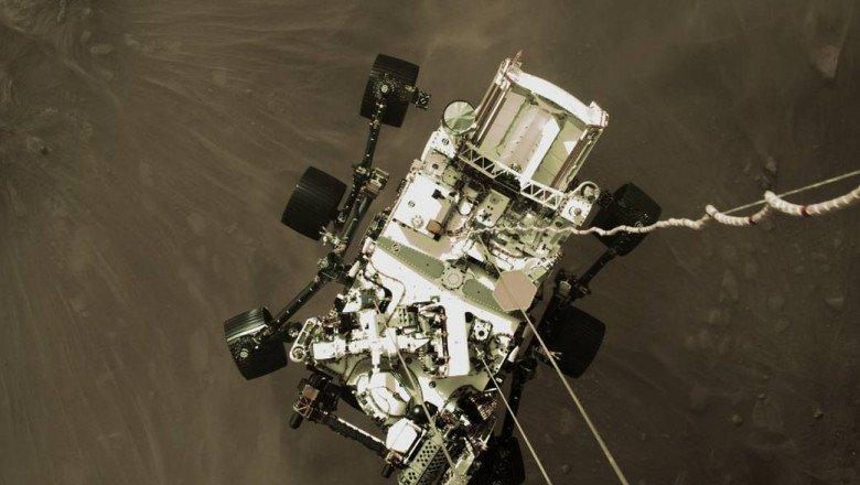 Moment istoric! Au apărut primele imagini video de pe Marte