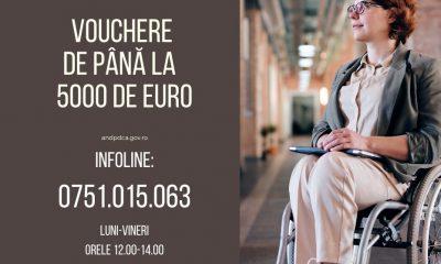 Vouchere de 5.000 euro pentru persoanele cu dizabilități din Cluj. Ce trebuie să faceți
