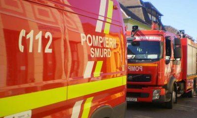180 de persoane evacuate din propriile case din cauza unui incendiu