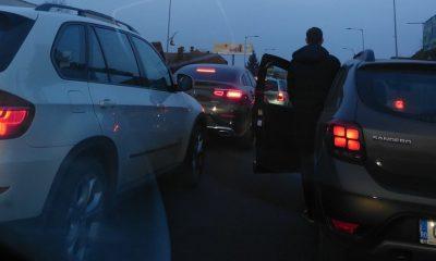 Accident grav la Cluj. O persoană a fost izbită în plin de o mașină
