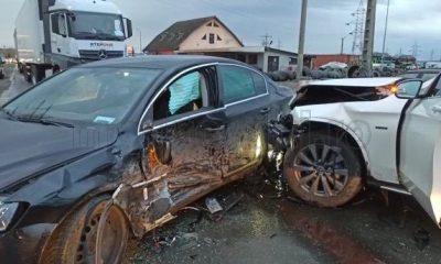Accident grav la Turda. 6 persoane au fost transportate la spital în stare gravă