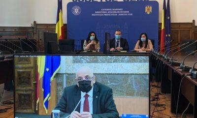 Prefectul Clujului, ședință cu Raed Arafat. Despre ce au discutat