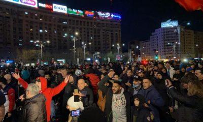 Val de proteste în mai multe orașe din țară față de noile restricții impuse de Guvern