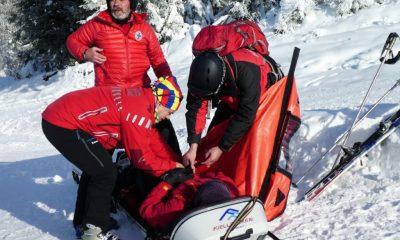 Aproape 200 de persoane au necesitat sprijinul salvamontiștilor clujeni iarna aceasta