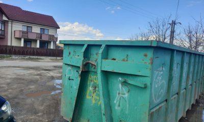 Au sosit containerele pentru colectarea deșeurilor voluminoase la Apahida. Unde sunt amplasate