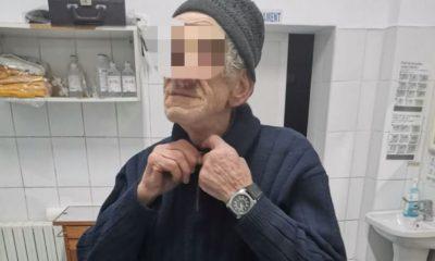 Aventura incredibilă a unui bătrânel, pornit din Moldova la Cluj să-și găsească fratele. A umblat nemâncat trei zile și a stat în frig și ploaie