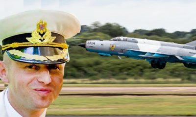 Cine este pilotul care a reuşit catapultarea din MIG-ul prăbuşit ieri? Locuieşte în Cluj-Napoca şi a studiat la Atena