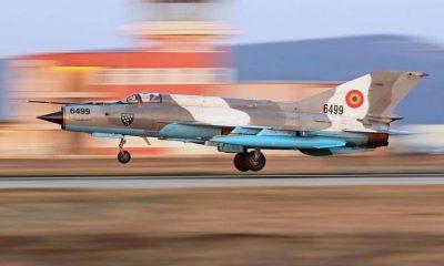 Pilotul MiG-ului prăbușit, internat la Terapie Intensivă