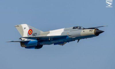 S-a prăbușit un MiG de la baza militară din Cluj