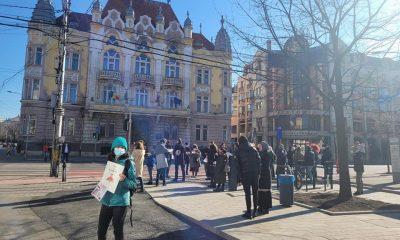 Un nou protest anti-restricții la Cluj. Care sunt dorințele maifestanților