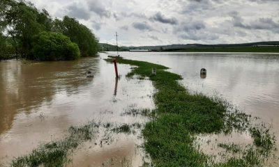 Clujul, în alertă. Pericol de inundații până la miezul nopții