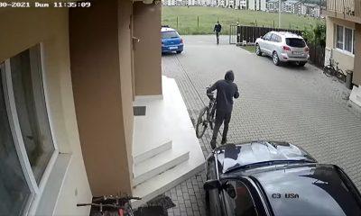 Furte de biciclete, ziua în amiaza mare, la Florești. Ce tactică au folosit