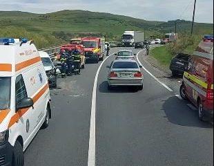 Încă un accident la Cluj. Trei mașini implicate