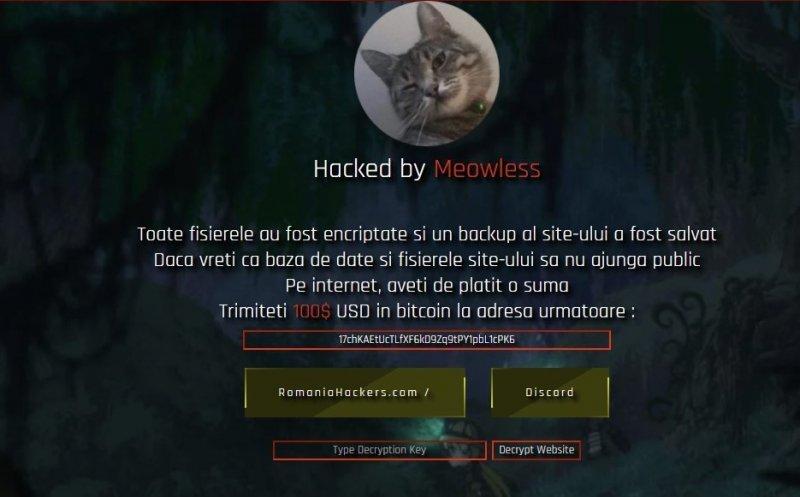 Site-ul Consiliului Județean Cluj, spart de hackeri, este suspendat intenționat. S-a depus plângere la DIICOT