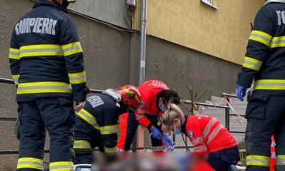 Tânărul care a căzut de pe un bloc din Gheorgheni a murit
