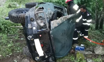 Accident grav de mașină la Cluj. O persoană a murit în localitatea Muntele Rece / Alte două persoane au fost transportate la spital