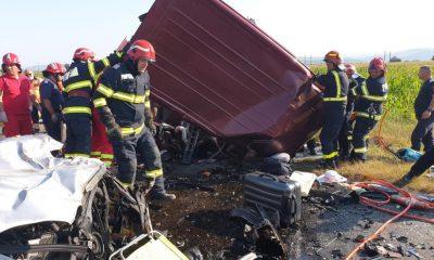 """9 persoane decedate și 10 persoane rănite. MAI: """"Două accidente grave s-au produs astăzi... vă rugăm să conduceți prudent"""""""