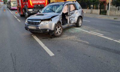 Accident în Florești. Două tinere au fost transportate la spital