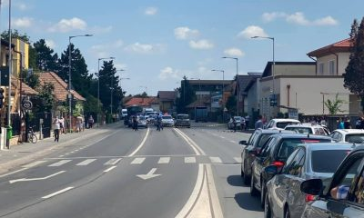 Bărbat lovit de mașină în Florești