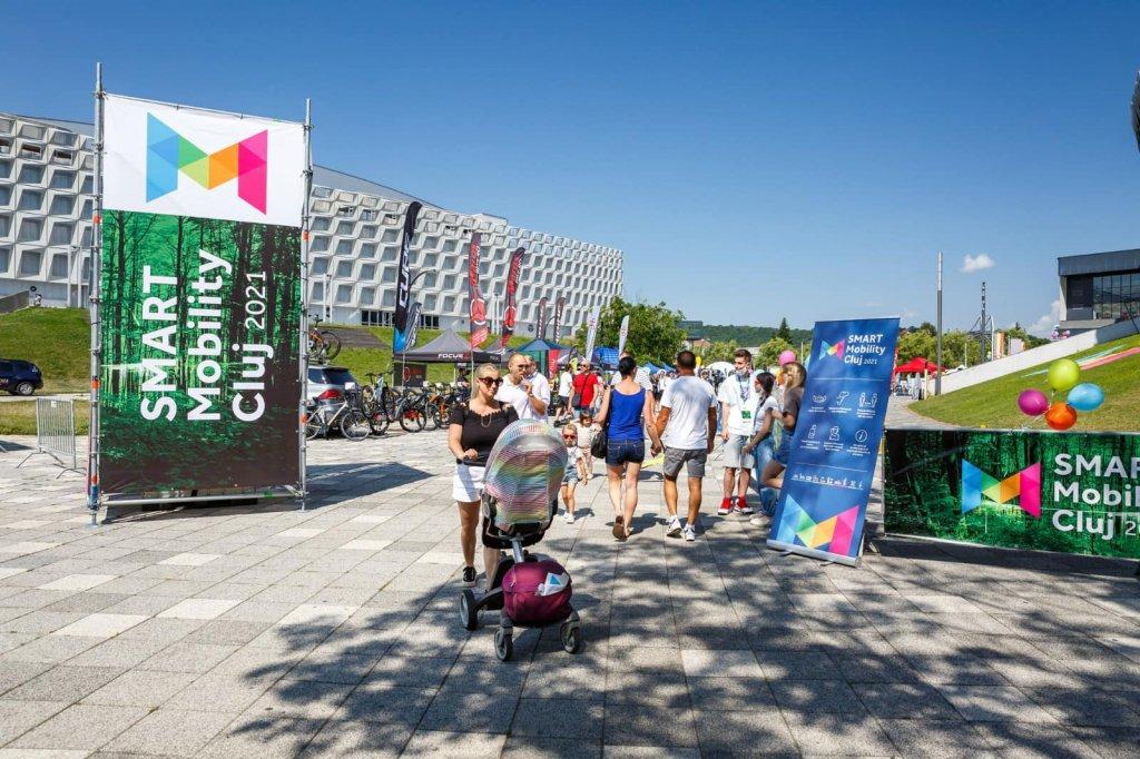 Clujul a găzduit cel mai mare eveniment dedicat mobilității sustenabile din România: SMART Mobility Cluj