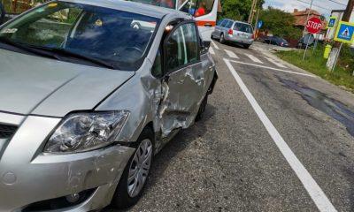 Accident cu două mașini și un TIR pe Cluj - Turda
