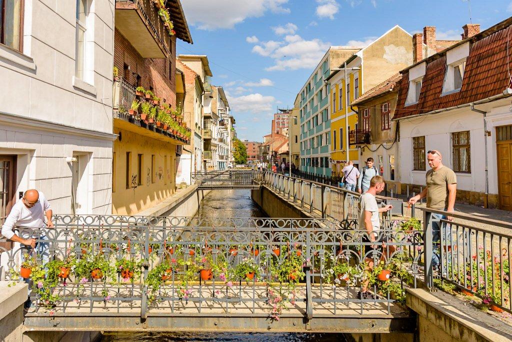 Culoare în Mica Veneție a Clujului