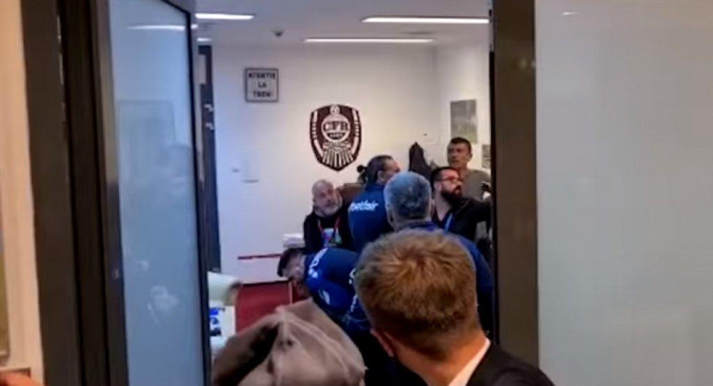 Juristul lui CFR Cluj a ieșit cel mai șifonat din bătaia de la vestiare. De câte zile de spitalizare are nevoie
