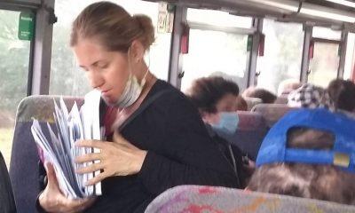 Refuz de a purta mască în autobuz, pe ruta centru - Borhanci. Este vorba despre doi poştaşi din Cluj-Napoca