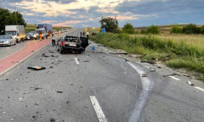 Accident mortal în Cluj. Un bărbat de 36 de ani și-a pierdut viața iar altul este în stare gravă