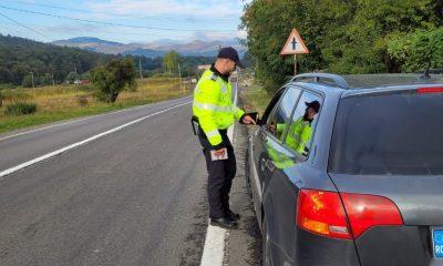 FOCUS ON THE ROAD:  Peste 1.800 de mașini verificate și aproape 1.000 de amenzi la Cluj