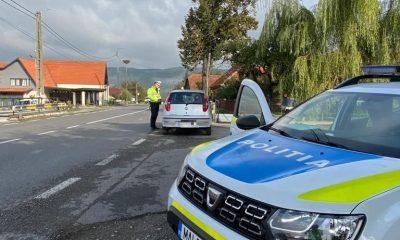 Razie de amploare pe șoselele Clujului. Sute de amenzi și zeci de permise reținute în doar câteva ore
