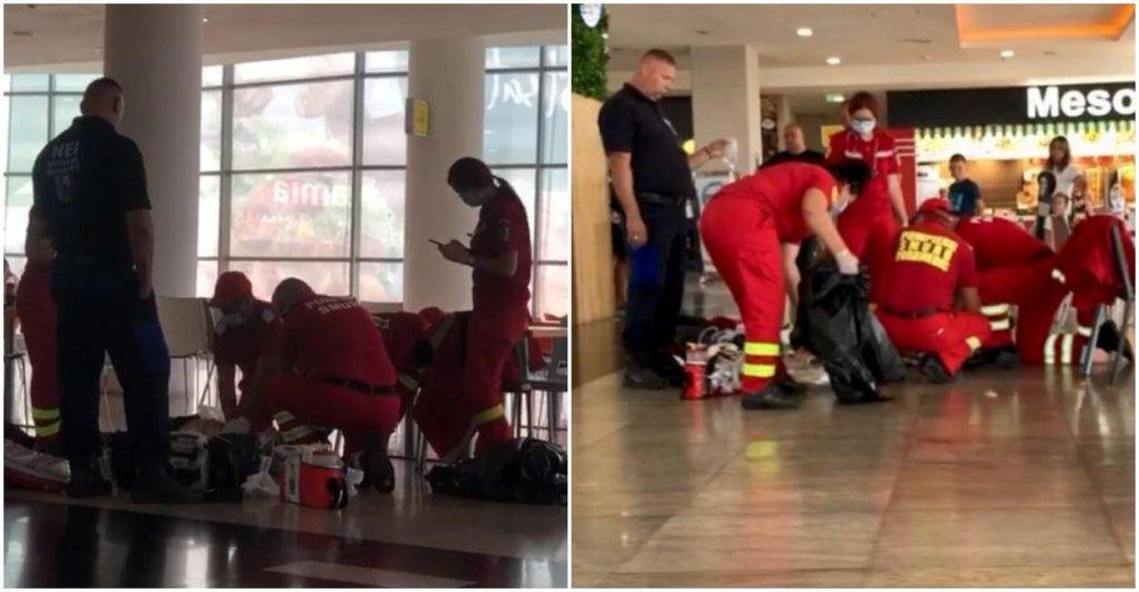 Un bărbat a murit înecat cu o bucată de mâncare într-un mall. În loc să-l ajute, martorii l-au filmat