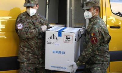 România va mai primi în octombrie aproape 1.000.000 de doze Pfizer și Moderna