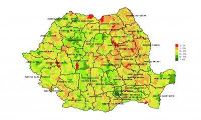 Trei localități din Cluj, în topul vaccinărilor în țară/ HARTA vaccinării în județ