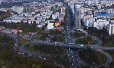 Video spectaculos din dronă. Cum arată traficul din Cluj la o oră de vârf